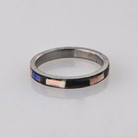 Paua/Pink Ring