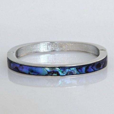#Out of Stock#Paua Wide Magnetic Bangle