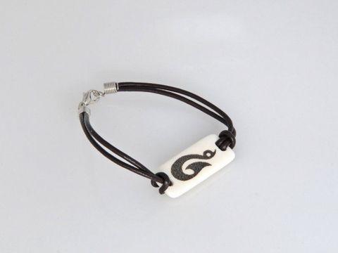Bone Rec Fish Hk Bracelet - Large