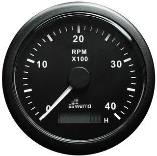 Tachometers/hour meters