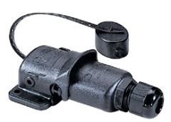 Plug AQ IP65 5 pin 12/24V 16A+