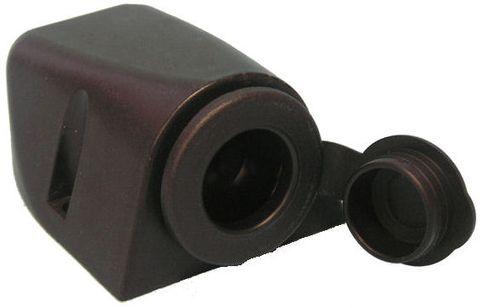 Socket 12V cig lighter surface mount+