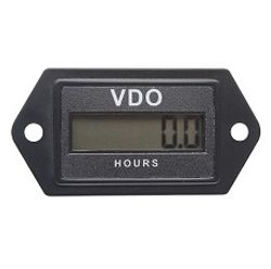 Hour meter LCD 12/24V rectangular