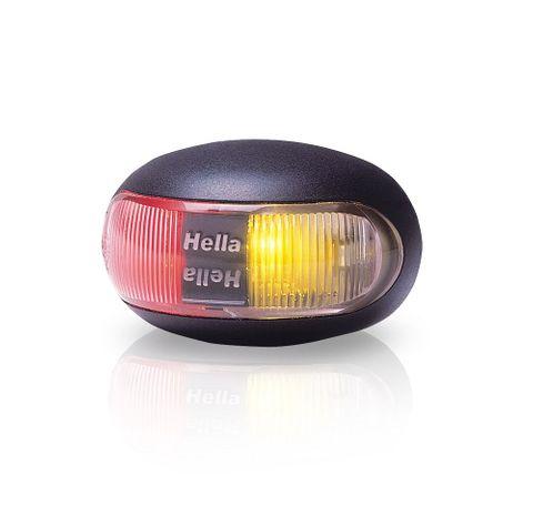 Light LED DURALED surf mt red/amb 8-28V