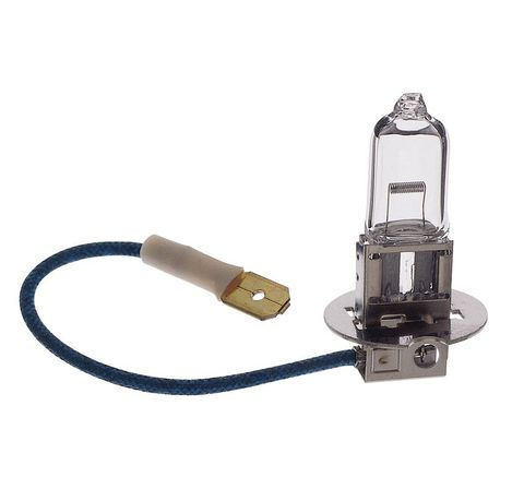 Lamp Quartz H3 with tail 12V 55W
