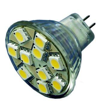 Lamp LED MR16 15SMD 10-30Vdc cwe