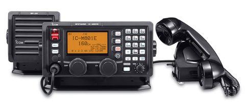 Radio HF ICOM IC-M801E black+