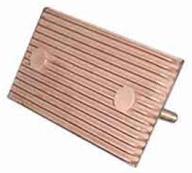 Earth plate MOO copper alloy+