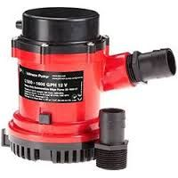 Bilge Pump JOH L1600 (1600gph) 12V+