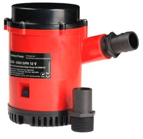 Bilge pump JOH L2200 (2060gph) 12V+