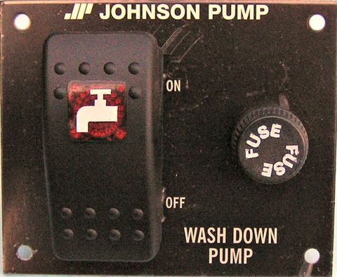 Switch panel for washdown pump JOH 12V