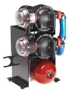 Pump DUO JOH 2x20L/min 12V & 2L accu+
