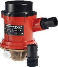 Pump livewellaerator JOH 1600GPH 12V+