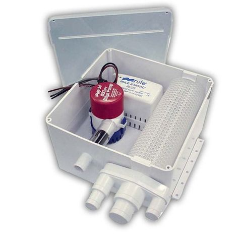 Shower sump Rule 12V800GPH+