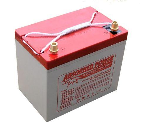 Battery ABS AGM12V76Ah570CCA258x168x226+