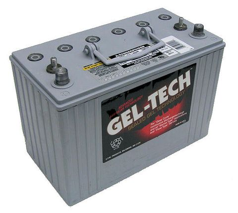 Battery Geltech 06V180Ah 260x181x276mm +