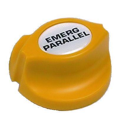 Actuator/key BEP Emergency Parrallel yel