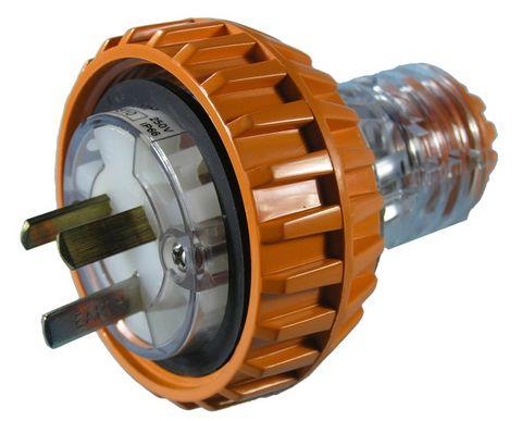 Plug 240V 15A IP66 in-line +