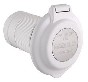 Plug inlet Marinco 230V/32A +