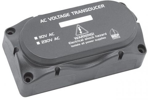 Voltage transducer for BEP AC monitors
