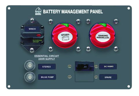 Panel Battery Management BEP 800-MS4+
