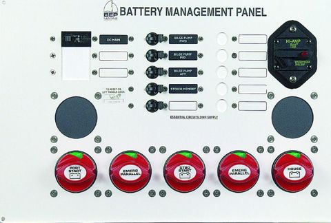 Panel Battery Management BEP 800-MS2+