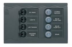 Panel BEP CC807T-PR single 4CB+4resetCB