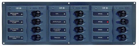 Distr panel DC BEP 902NMH 3x4 nometer+