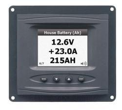 Panel battery monitor DC Ah/V/A & bilge+