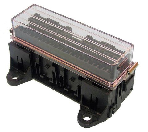Fuseholder blade 16fuse with clear cover