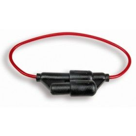 Fuseholder 3AG in line 3mm &spare holder