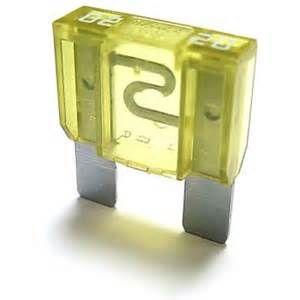 Fuse Maxi-blade 020A (yellow)