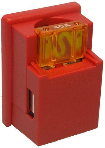 Fuseholder BS for 1 Maxi blade fuse