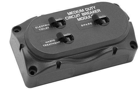 Circuit breaker module 2x25A 1X50A