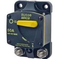 Circuit breaker BUS187 surf mount 050A+