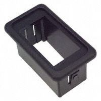 Switch rocker blk mounting single switch