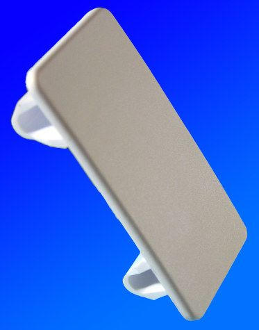 Switch rocker wht blank-off plate+
