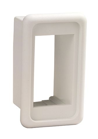 Switch rocker wht mounting single switch