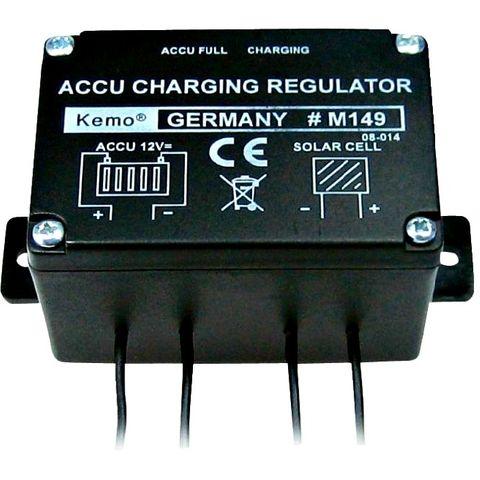Controller solar Kemo 6A