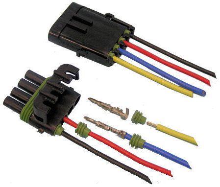 Plug and socket kit waterproof 2 pin
