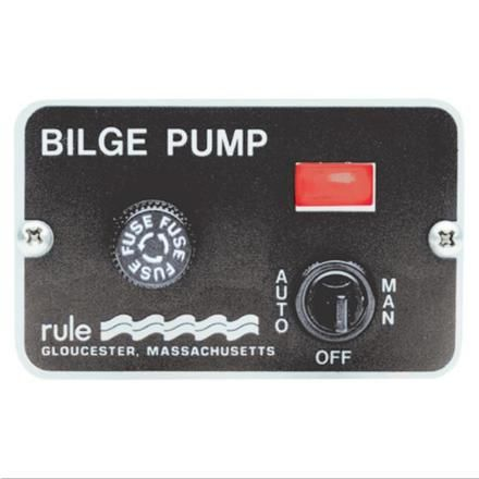 Bilge pump control panel Rule 12V+