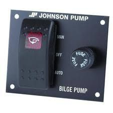 Switch panel for bilge pump JOH 12V+