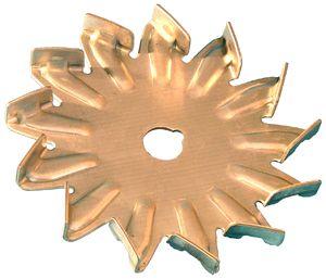 Fan for alternator high - flow