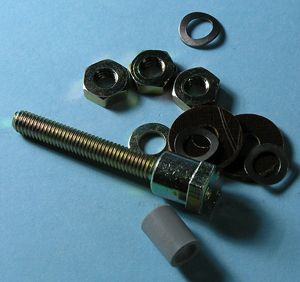 Insulated stud&nuts& ferrule 11pce