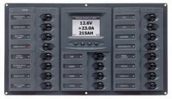 Distr panel DC20 hori digi meter +