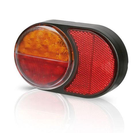 Light trailer LED round reflector Qty 1
