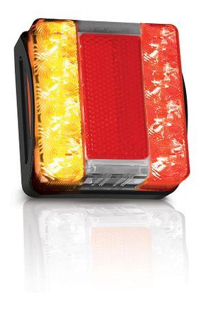 Light trailer LEDrect comb 12/24V 6m +