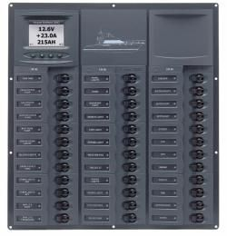 Distr panel DC32 Lmimic 2analg metr+