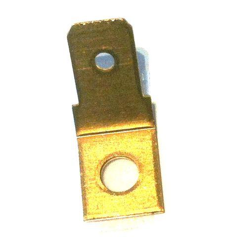 Tab adaptor d4mm brass 10PAK
