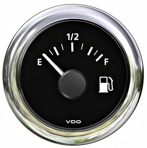 Gauge fuel VLB (tubular) 12/24V